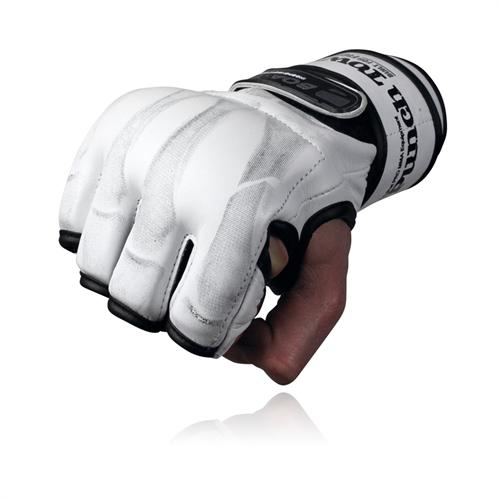 PunchTown KARPAL eX mk II White MMA Gloves